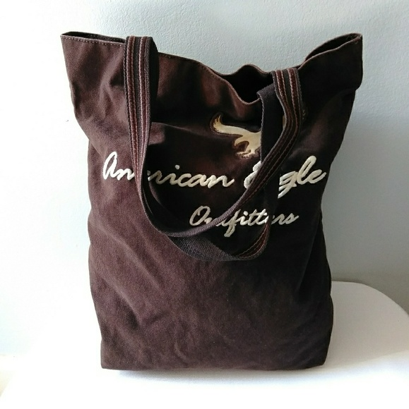 American Eagle Outfitters Handbags - Brown American Eagle Outfitters Tote
